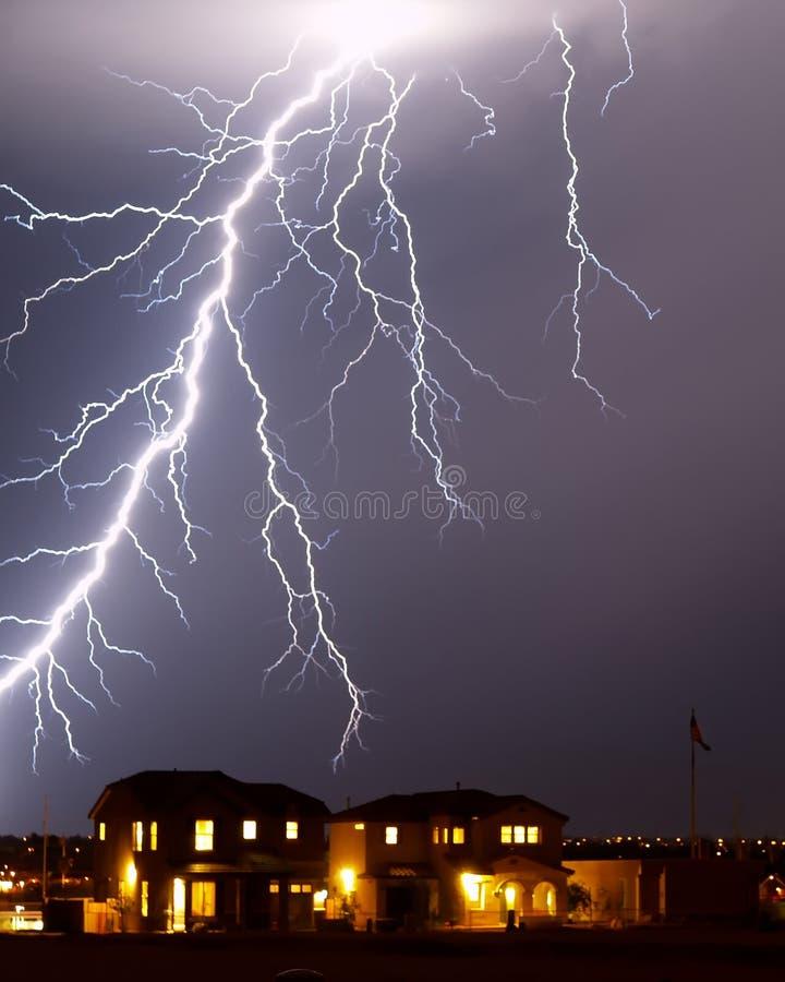 αστραπή Tucson AZ στοκ εικόνες