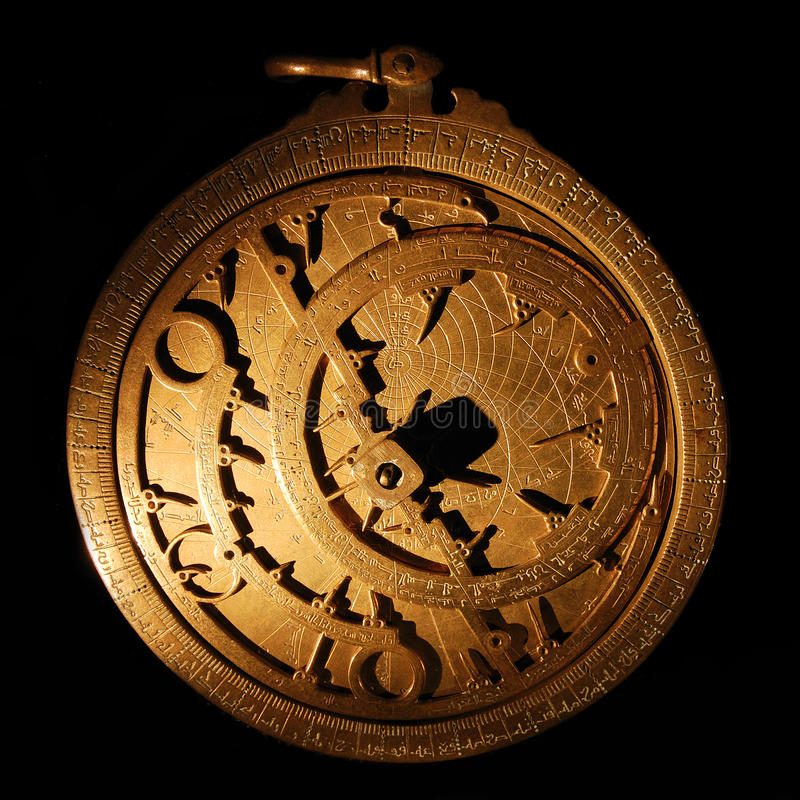 αστρολάβος στοκ φωτογραφίες με δικαίωμα ελεύθερης χρήσης