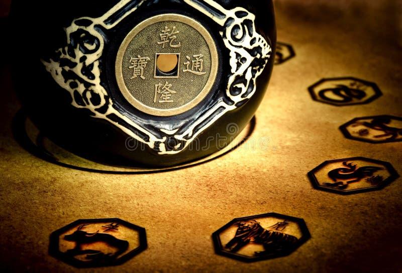 αστρολογία κινέζικα στοκ φωτογραφία με δικαίωμα ελεύθερης χρήσης