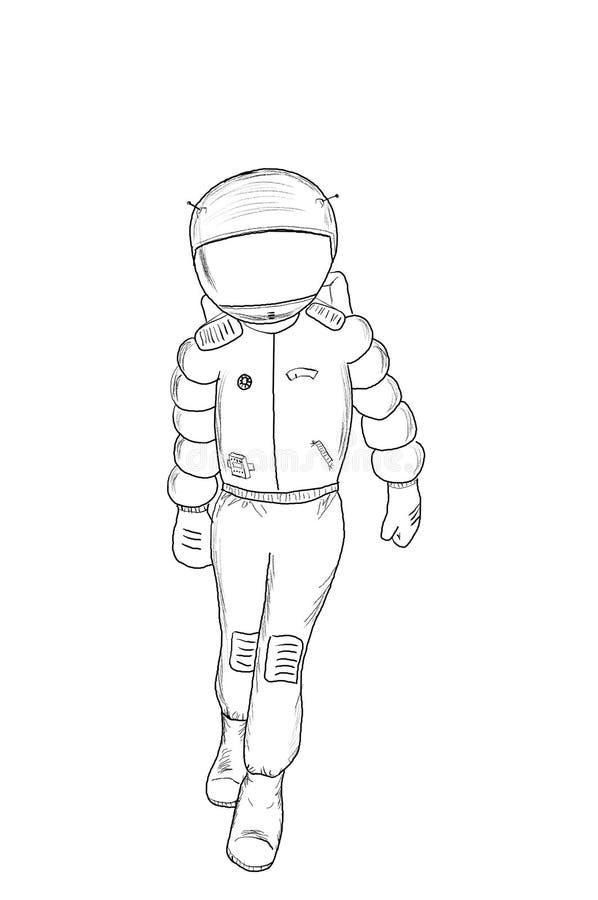 αστροναύτης 4 στοκ φωτογραφία