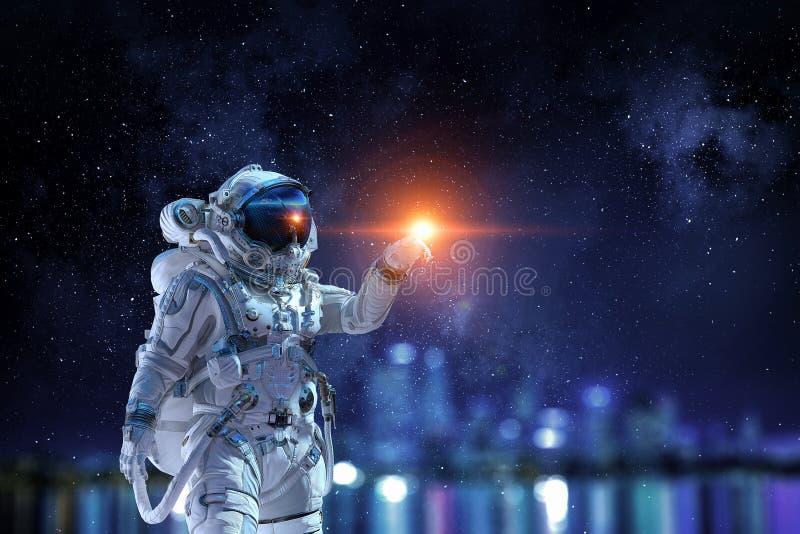 Αστρονομία ως επιστήμη Μικτά μέσα στοκ φωτογραφία με δικαίωμα ελεύθερης χρήσης