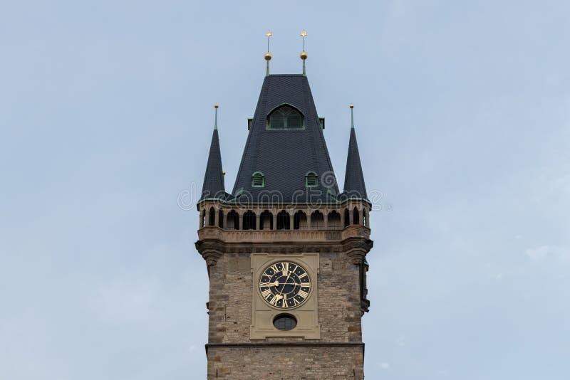 αστρονομικός πύργος της Πράγας ρολογιών στοκ φωτογραφία με δικαίωμα ελεύθερης χρήσης