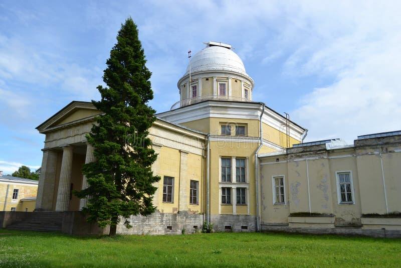 Αστρονομικό παρατηρητήριο Pulkovo στο ST Πετρούπολη στοκ φωτογραφίες με δικαίωμα ελεύθερης χρήσης
