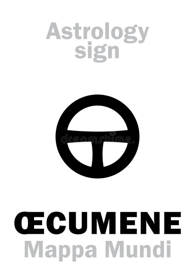 Αστρολογία: Å'CUMENE ελεύθερη απεικόνιση δικαιώματος