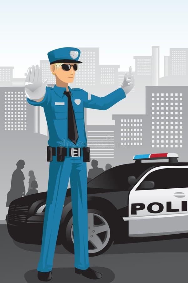 αστυνομία ανώτερων υπαλλήλων ελεύθερη απεικόνιση δικαιώματος