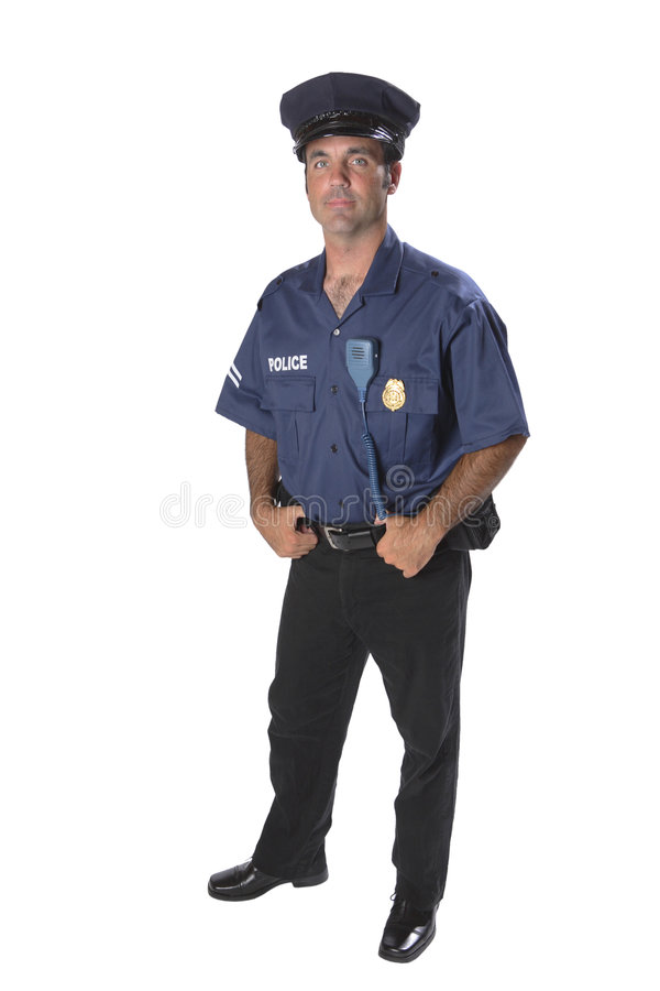 αστυνομία ανώτερων υπαλλήλων στοκ φωτογραφίες
