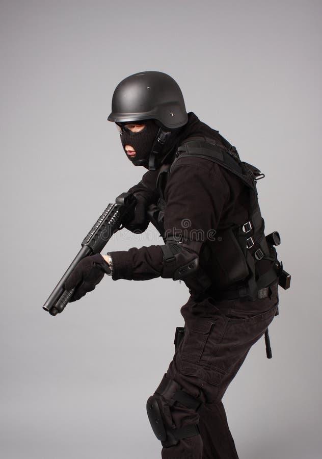αστυνομία ανώτερων υπαλ&lamb στοκ εικόνα