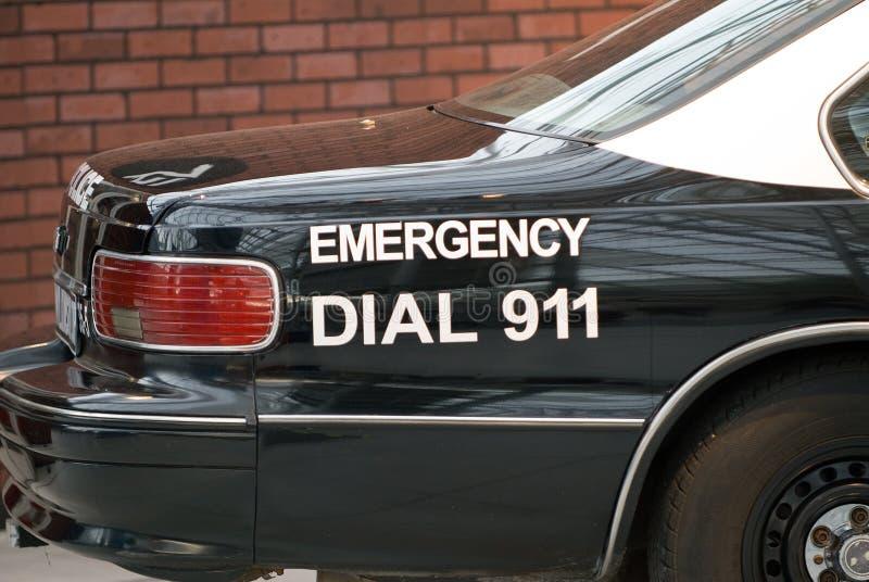 αστυνομία αυτοκινήτων στοκ φωτογραφία με δικαίωμα ελεύθερης χρήσης