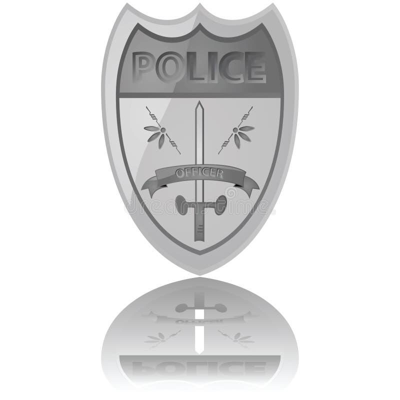 αστυνομία διακριτικών ελεύθερη απεικόνιση δικαιώματος