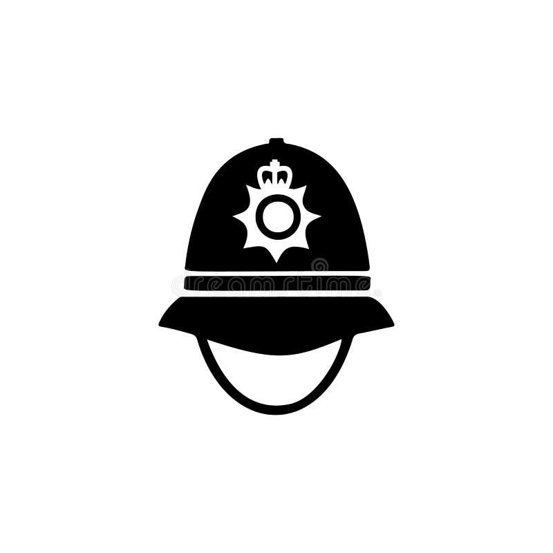 αστυνομία ΚΑΠ στο εικονίδιο της Αγγλίας ελεύθερη απεικόνιση δικαιώματος