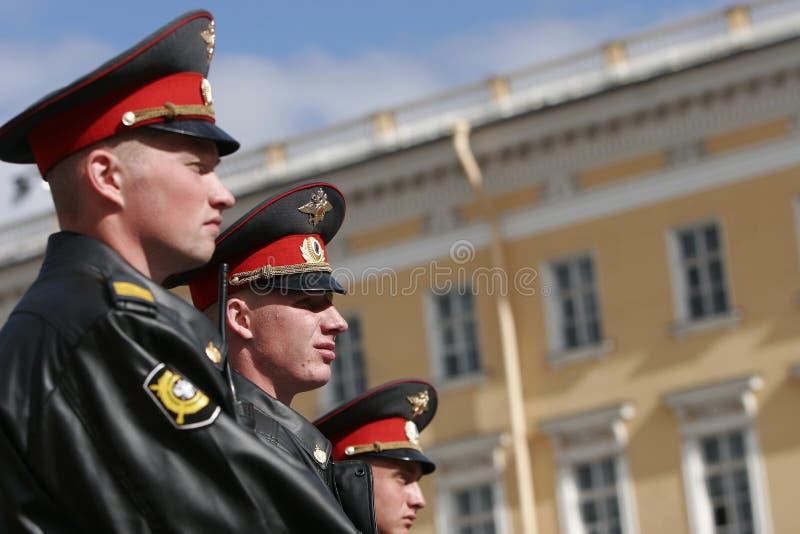 αστυνομία ρωσικά στοκ εικόνες