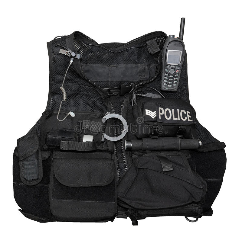 αστυνομία σωμάτων τεθωρα στοκ φωτογραφία με δικαίωμα ελεύθερης χρήσης