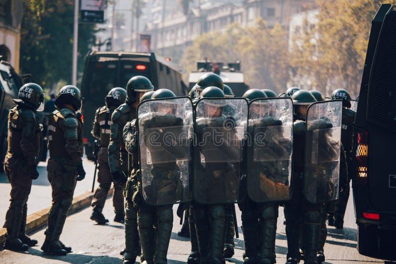 Αστυνομία ταραχής στοκ φωτογραφίες