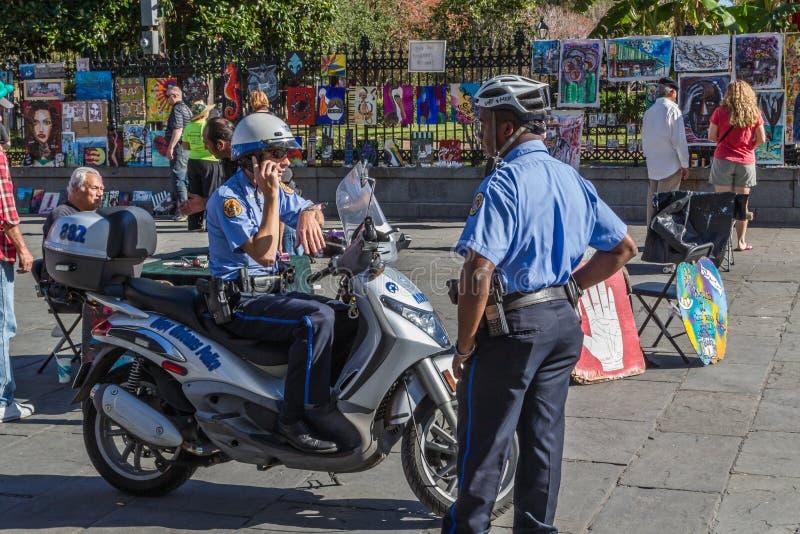 Αστυνομία της Νέας Ορλεάνης στοκ φωτογραφίες
