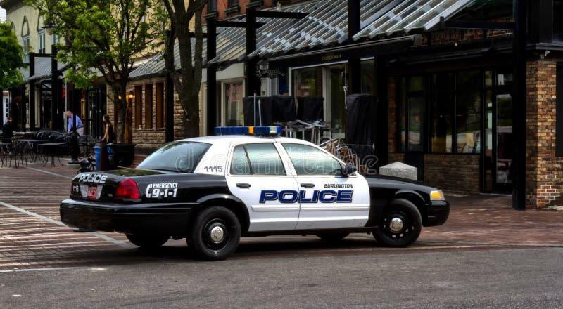 Αστυνομία του Μπέρλινγκτον στοκ φωτογραφίες