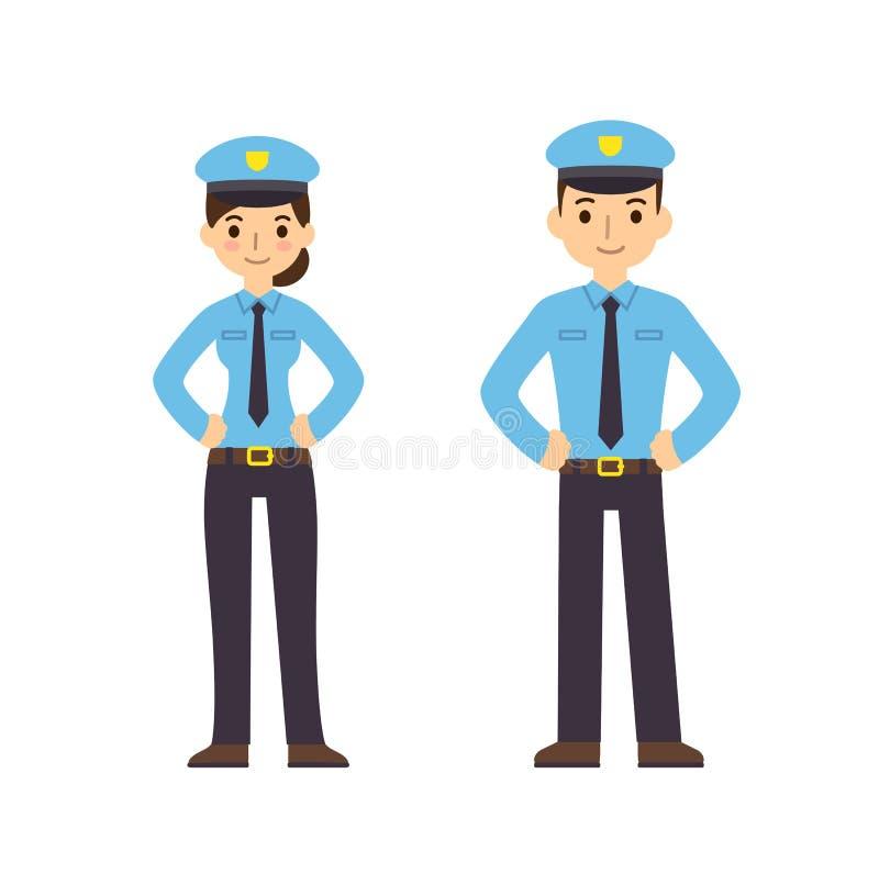 αστυνομικοί απεικόνιση αποθεμάτων