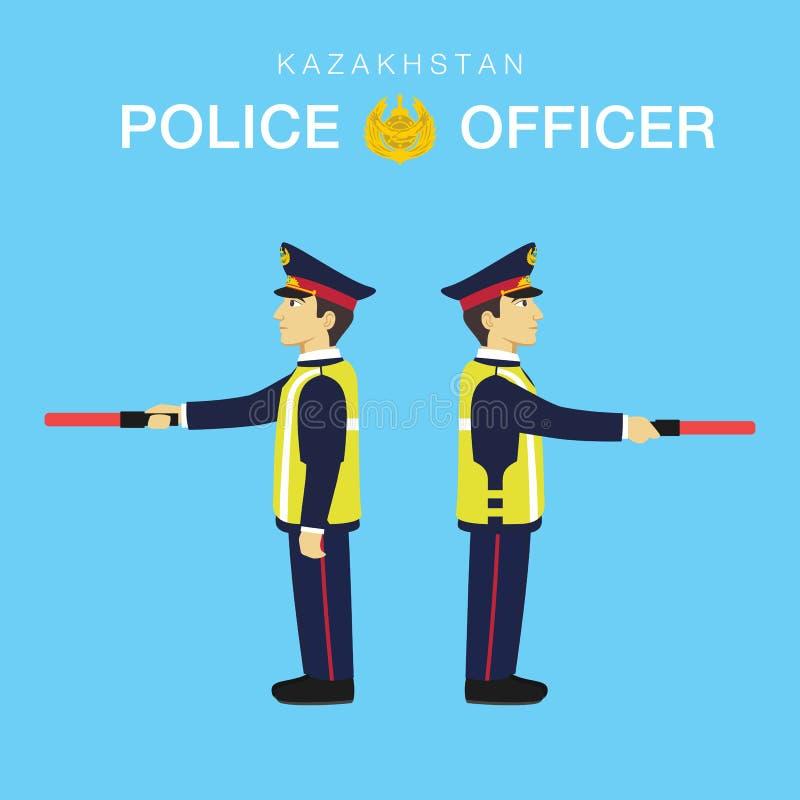 Αστυνομικός σε Καζακστάν-3 απεικόνιση αποθεμάτων