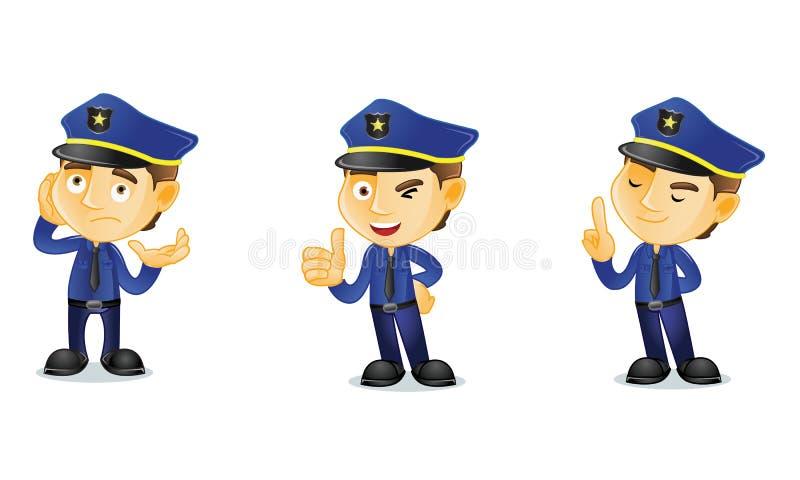 Αστυνομικός 2 διανυσματική απεικόνιση