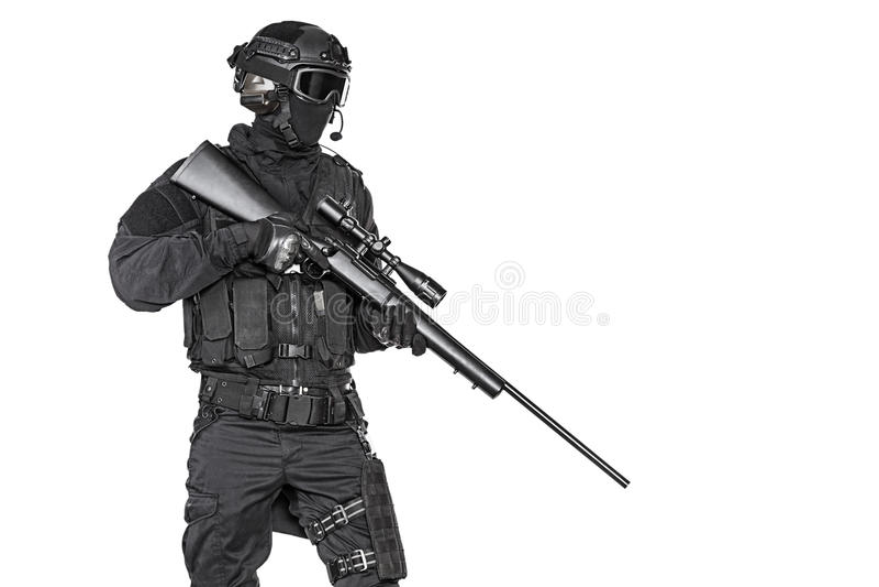 Αστυνομικός SWAT στοκ φωτογραφίες