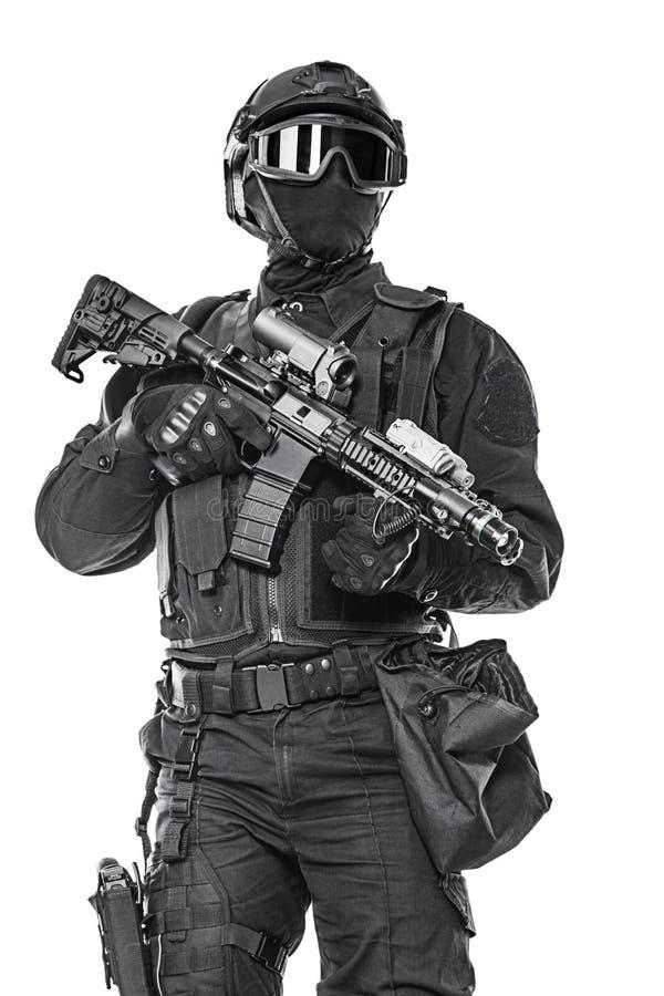 Αστυνομικός SWAT στοκ φωτογραφία με δικαίωμα ελεύθερης χρήσης