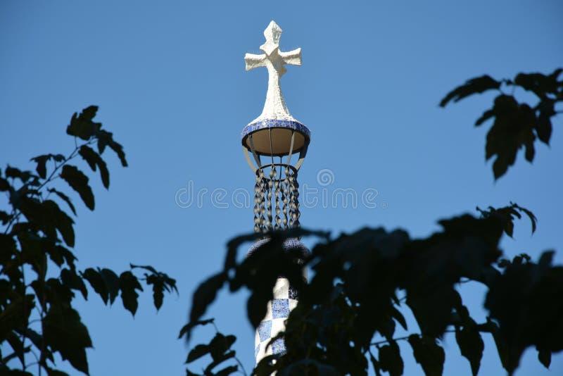 Ασυνήθιστος σταυρός στον καθεδρικό ναό στοκ φωτογραφίες με δικαίωμα ελεύθερης χρήσης