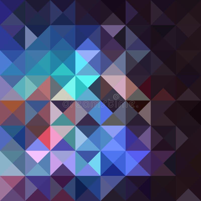 Ασυνήθιστο εκλεκτής ποιότητας αφηρημένο γεωμετρικό σχέδιο. απεικόνιση αποθεμάτων
