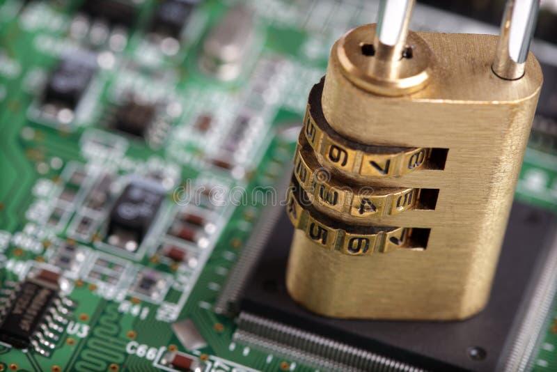 ασφάλεια Διαδικτύου υπολογιστών στοκ φωτογραφία με δικαίωμα ελεύθερης χρήσης