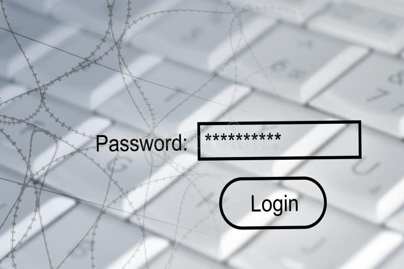 ασφάλεια Διαδικτύου ελεύθερη απεικόνιση δικαιώματος
