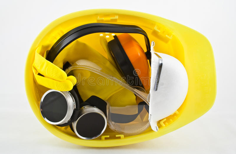 ασφάλεια εξοπλισμού δε& στοκ εικόνες