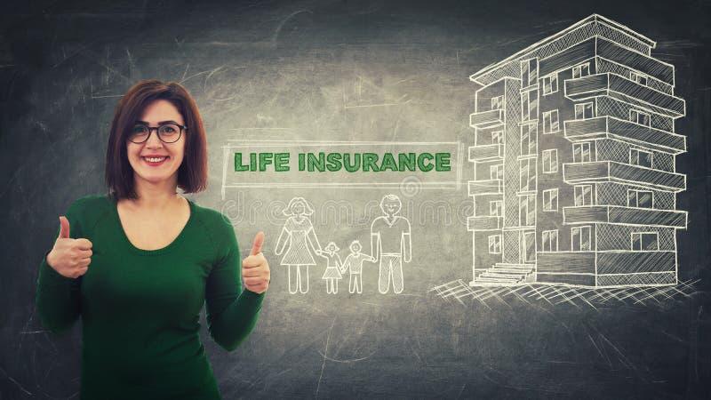 Ασφάλεια ζωής ελεύθερη απεικόνιση δικαιώματος
