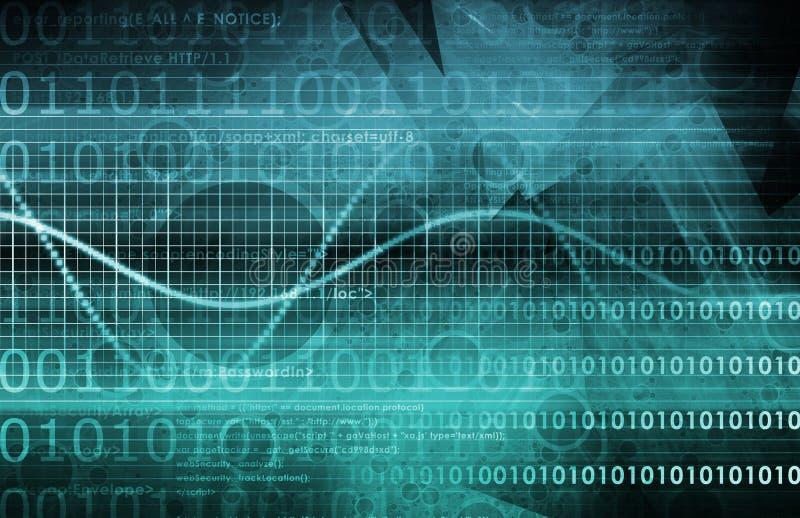ασφάλεια πληροφοριών διανυσματική απεικόνιση