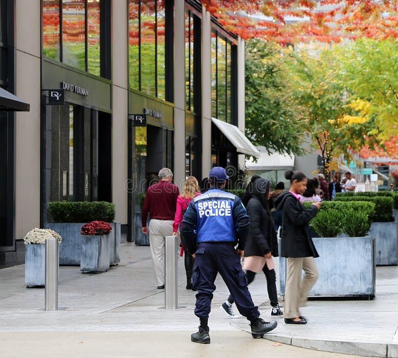 Ασφάλεια στο CityCenter DC στοκ εικόνα με δικαίωμα ελεύθερης χρήσης