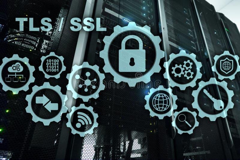 Ασφάλεια στρώματος μεταφορών Εξασφαλίστε το στρώμα υποδοχών SSL TLS τα ryptographic πρωτόκολλα παρέχουν τις εξασφαλισμένες επικοι διανυσματική απεικόνιση