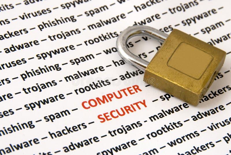 ασφάλεια υπολογιστών στοκ φωτογραφία