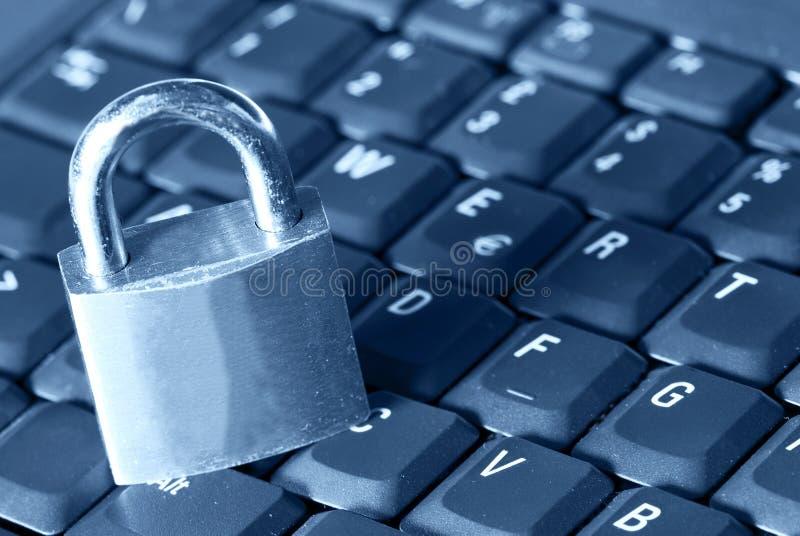 ασφάλεια υπολογιστών στοκ εικόνα