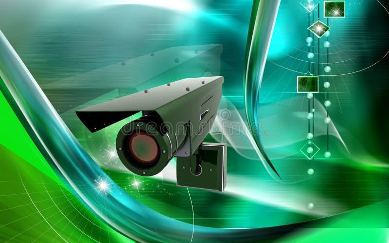 ασφάλεια φωτογραφικών μη& διανυσματική απεικόνιση