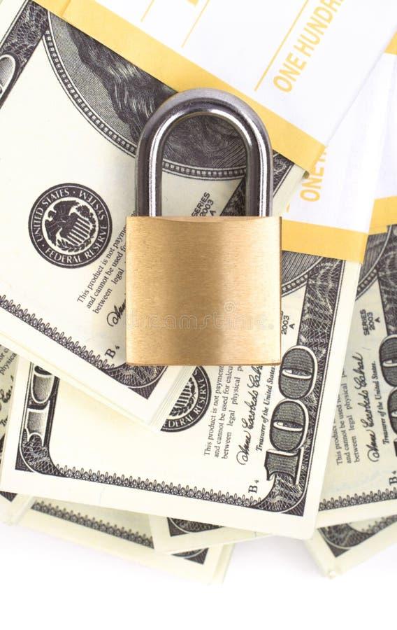 ασφάλεια χρημάτων στοκ φωτογραφία με δικαίωμα ελεύθερης χρήσης