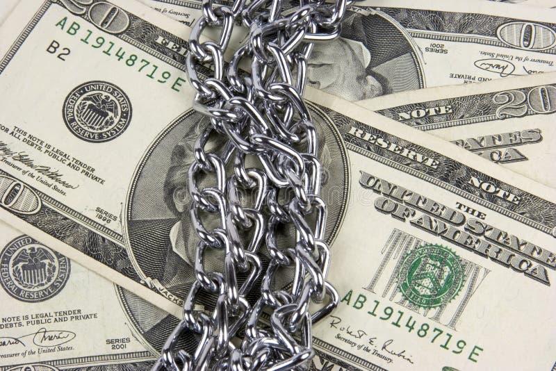 ασφάλεια χρημάτων στοκ εικόνα