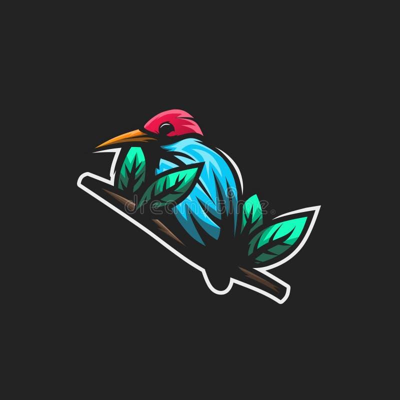 Ασφάλιστρο πουλιών απεικόνιση αποθεμάτων