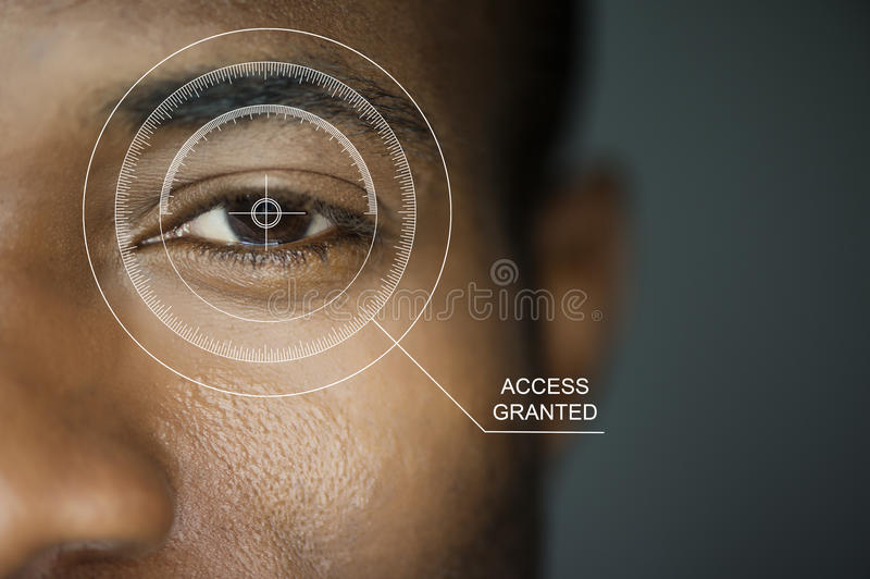 Ασφάλεια ανίχνευσης στοκ εικόνα με δικαίωμα ελεύθερης χρήσης