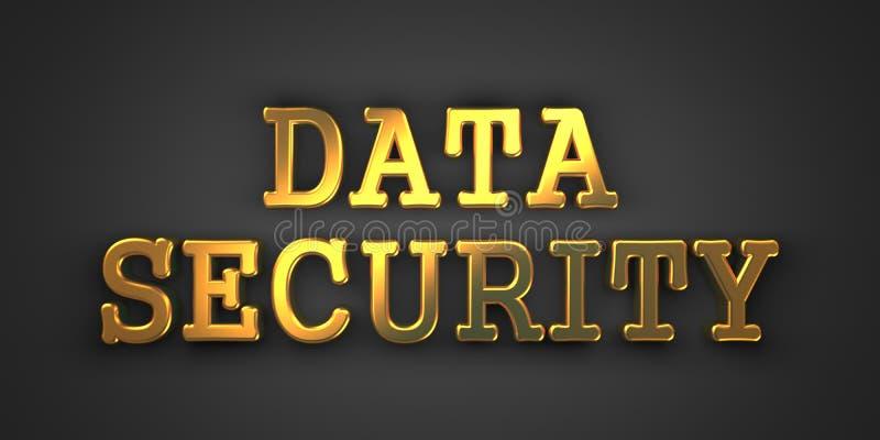Ασφάλεια δεδομένων. Έννοια πληροφοριών. απεικόνιση αποθεμάτων
