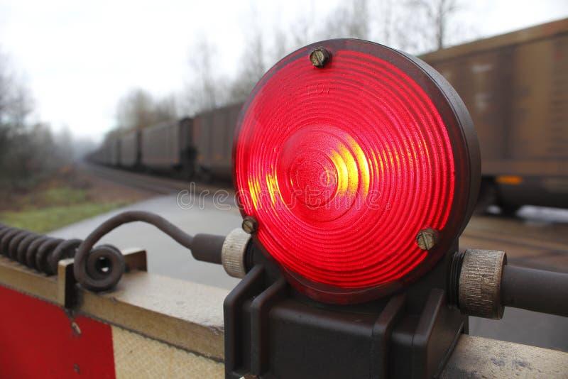 Ασφάλεια σιδηροδρόμων στοκ εικόνα