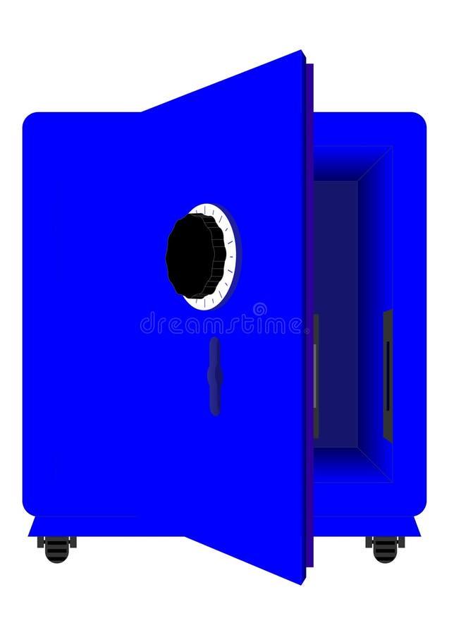 Ασφαλές ίζημα. διανυσματική απεικόνιση