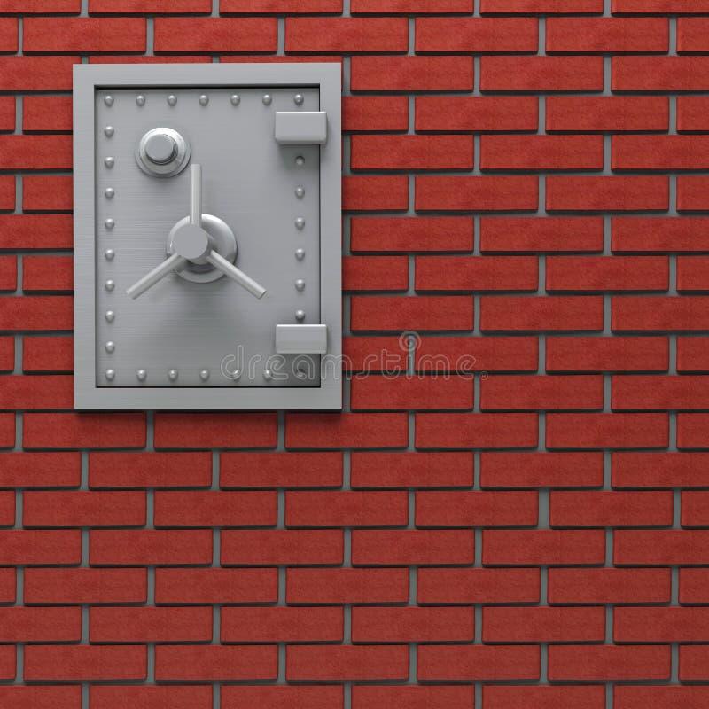 ασφαλής τοίχος απεικόνιση αποθεμάτων
