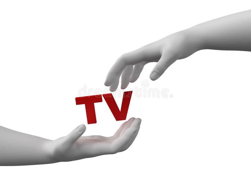 ασφαλής TV στοκ εικόνες