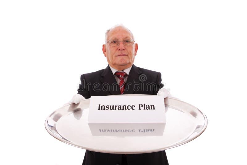 Ασφαλιστικό σχέδιο στοκ εικόνα