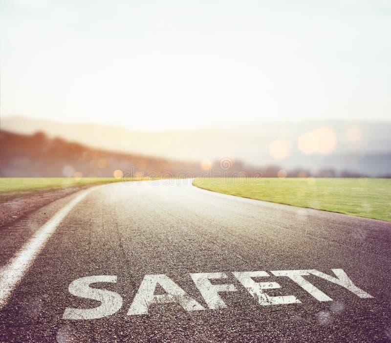 Ασφαλής δρόμος για να ταξιδεψει στοκ εικόνες με δικαίωμα ελεύθερης χρήσης