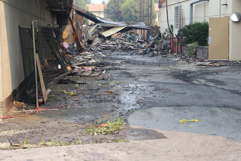 Ασφαλιστικά αρχεία ζώνης πυρκαγιάς στοκ φωτογραφίες
