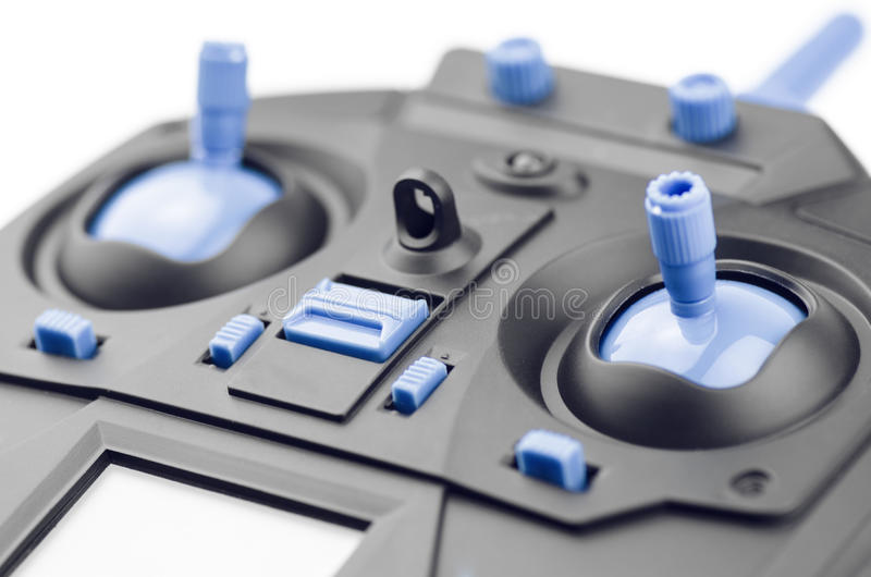 Ασύρματος στενός επάνω ελεγκτών παιχνιδιών πηδαλίων στοκ φωτογραφίες