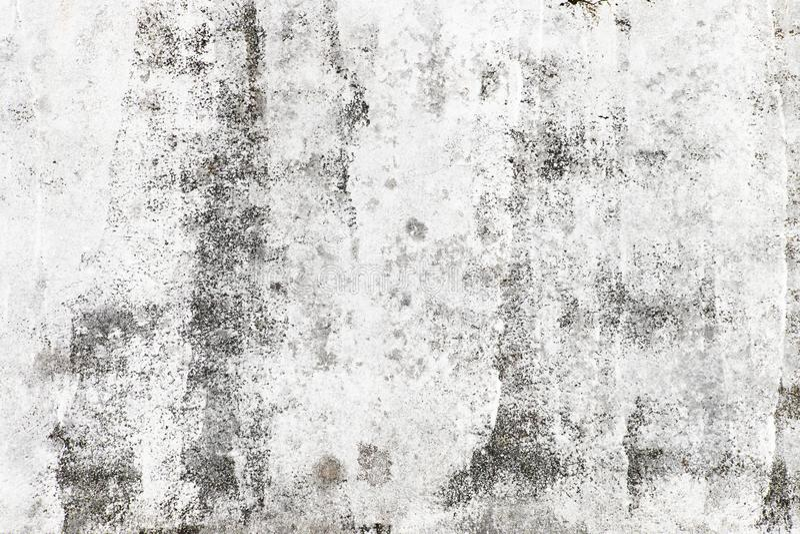 Ατελής άσπρος χρωματισμένος τοίχος στοκ εικόνες